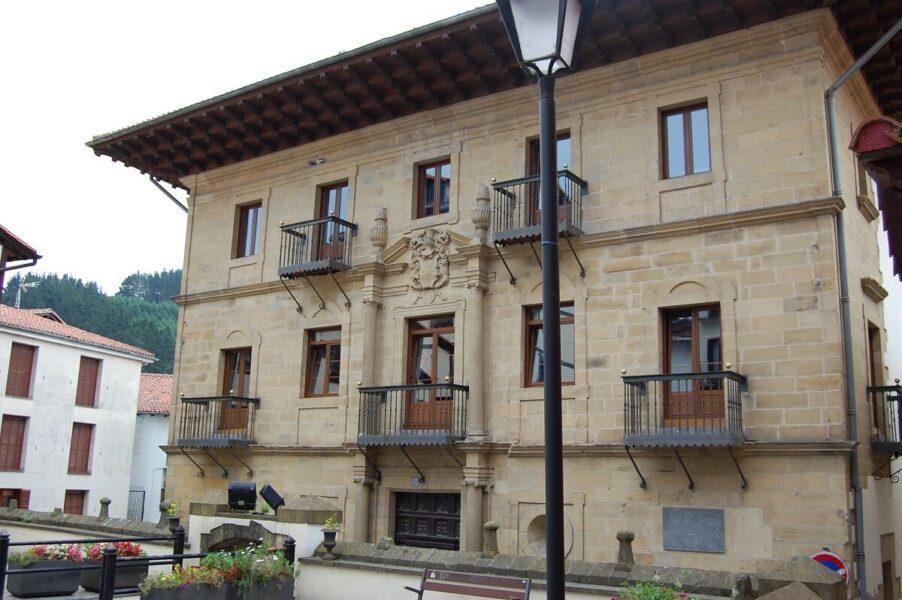 Palacio Zabiel en Mutriku