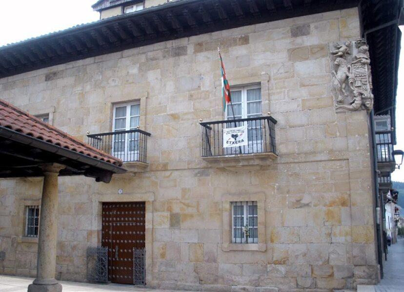 Palacio de Arratabe en Aretxabaleta