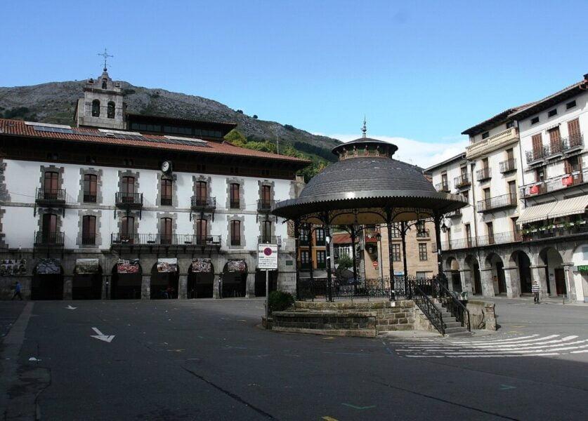 Plaza Mayor de Azpeitia