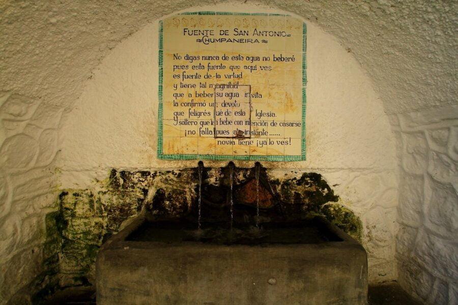Fuente de San Antonio en Trevélez