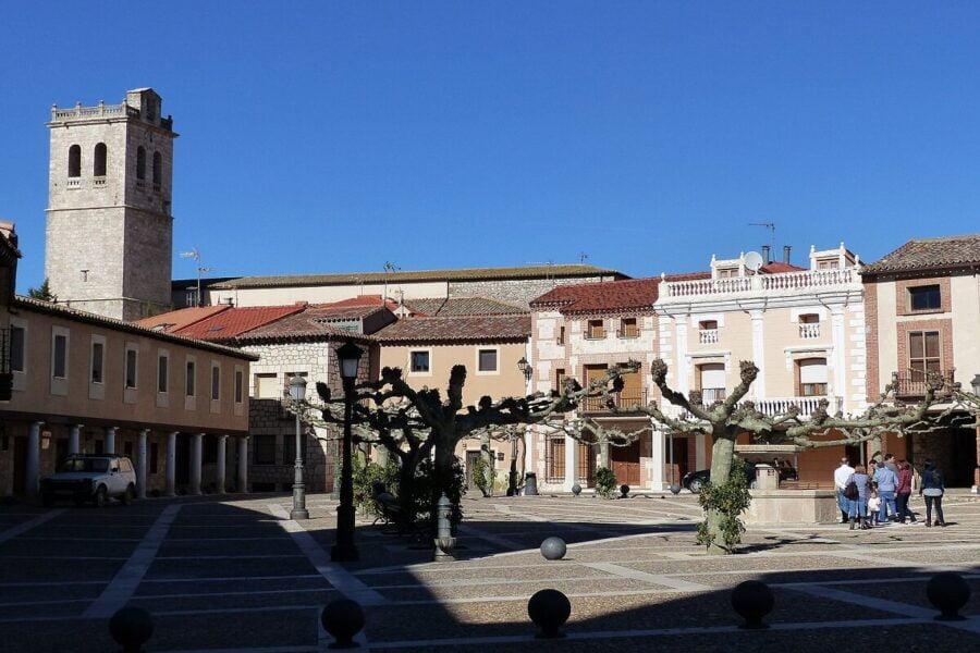 Visitar Torija. Plaza Mayor