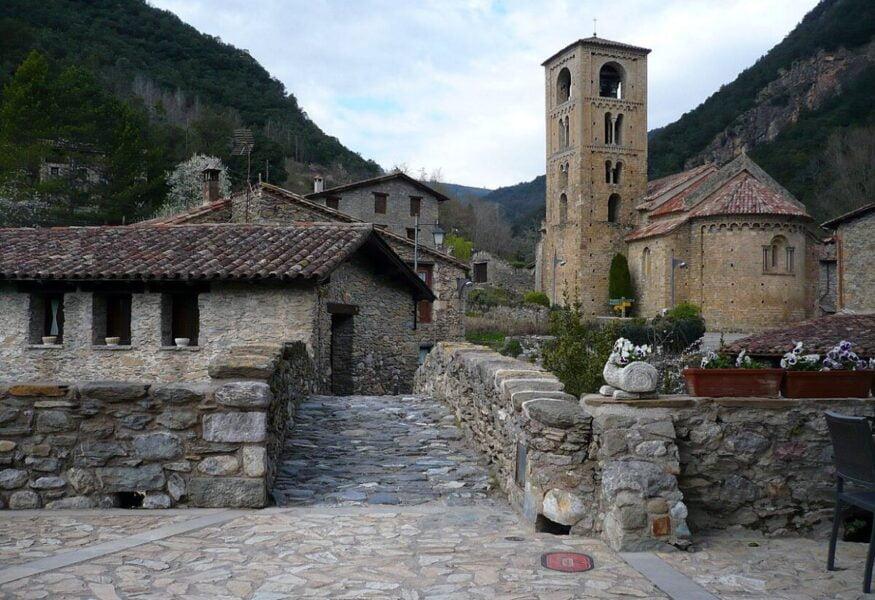 Vistar Beget un pueblo de Girona.
