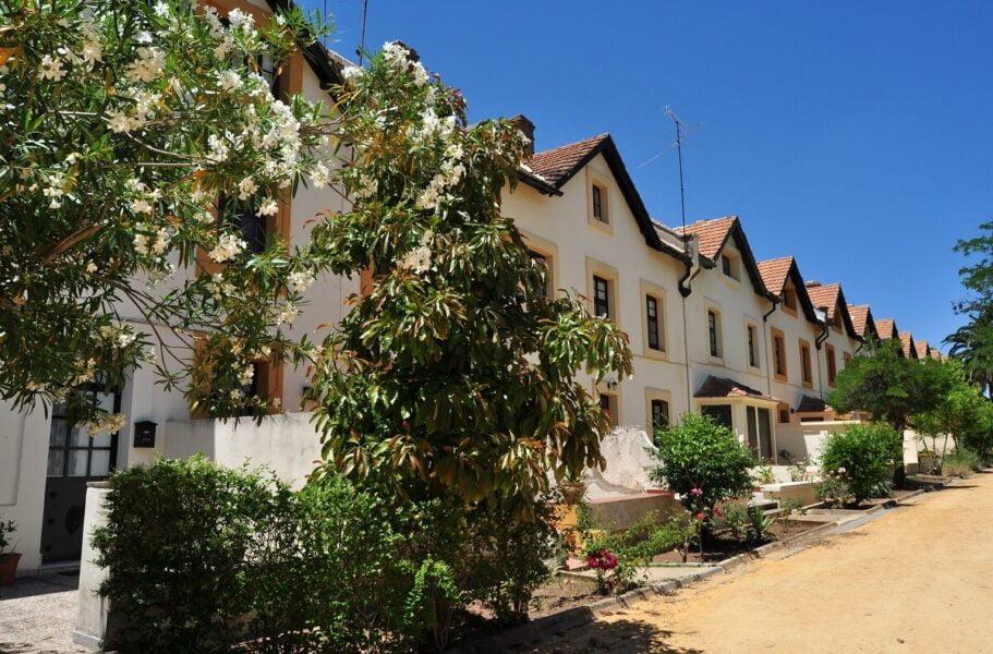 Barrio inglés Bella Vista en Riotinto