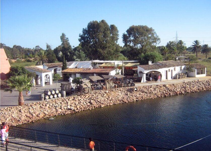Barrio portuario medieval en Palos de la Frontera