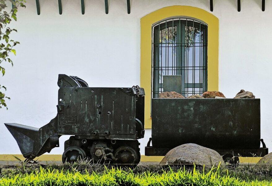 Exterior del Museo Minero en Riotinto