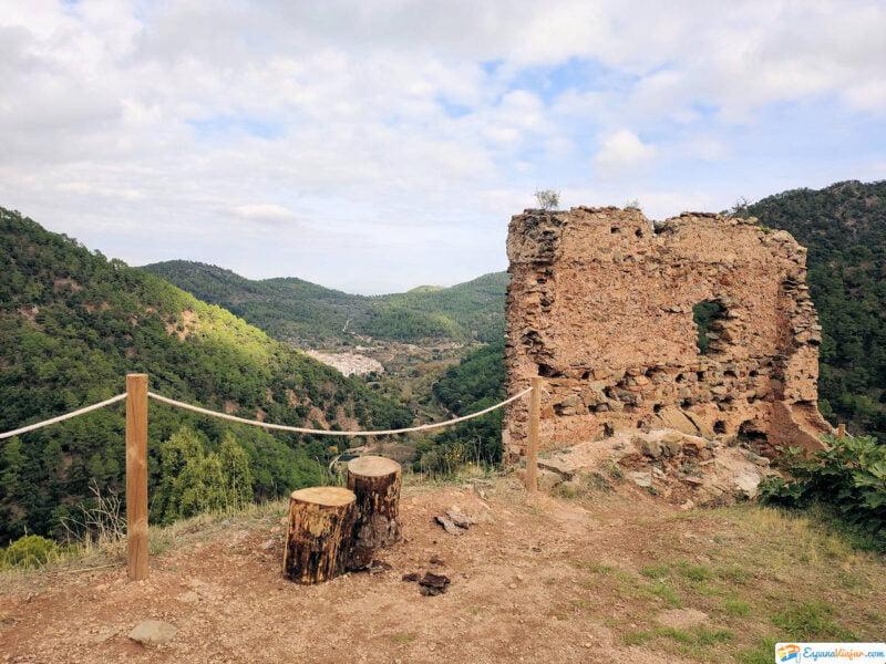 Aín vista desde el Castillo