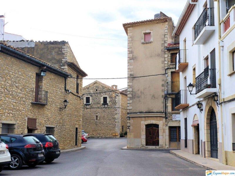Calles de Catí en Castellón