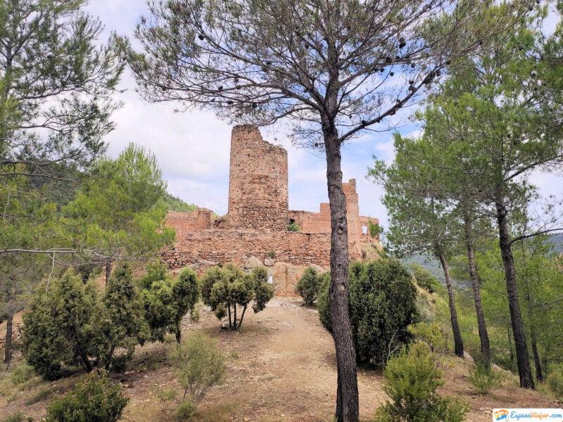 Castillo de Benali en Aín