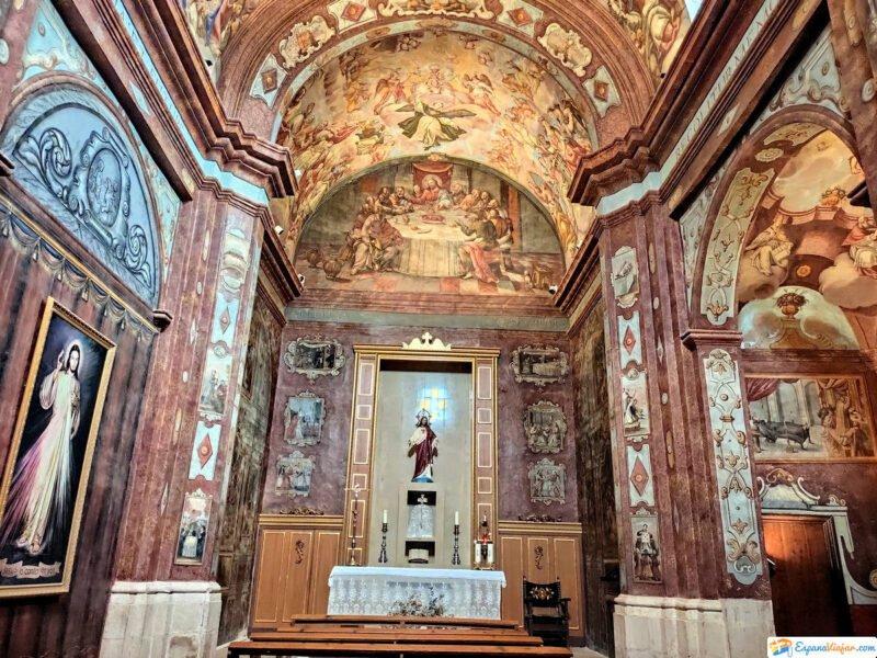Frescos de Iglesia Parroquial de la La Asunción
