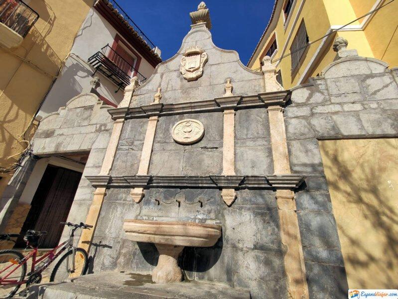 Fuente de Santa Águeda en Jérica