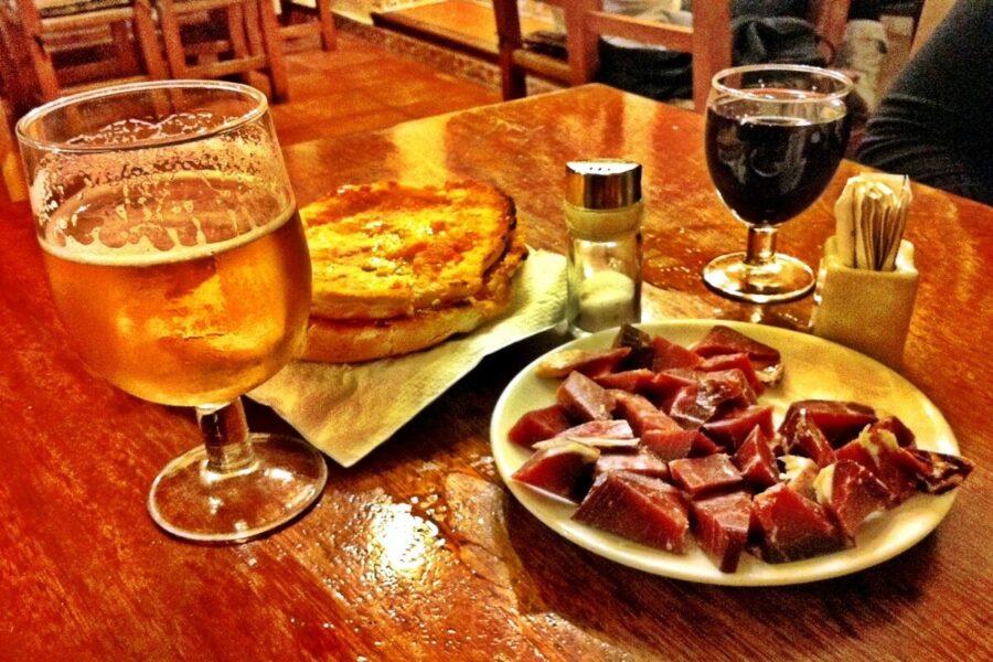 Gastronomía en Santa Gertrudis.