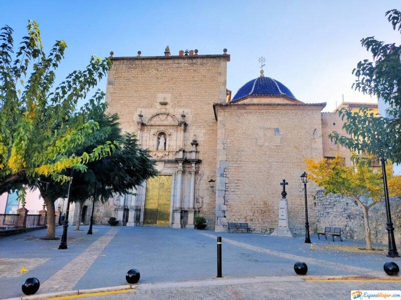 Iglesia de Santa Águeda la Nueva en Jérica