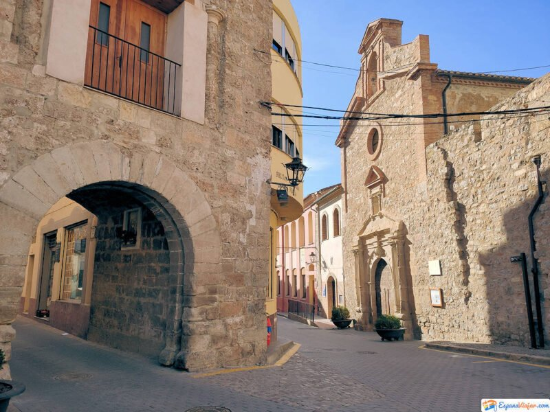 Iglesia del Socós en Jérica