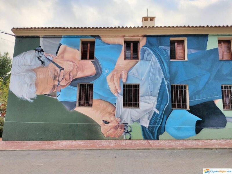 Museo Inacabado de Arte Urbano en Fanzara