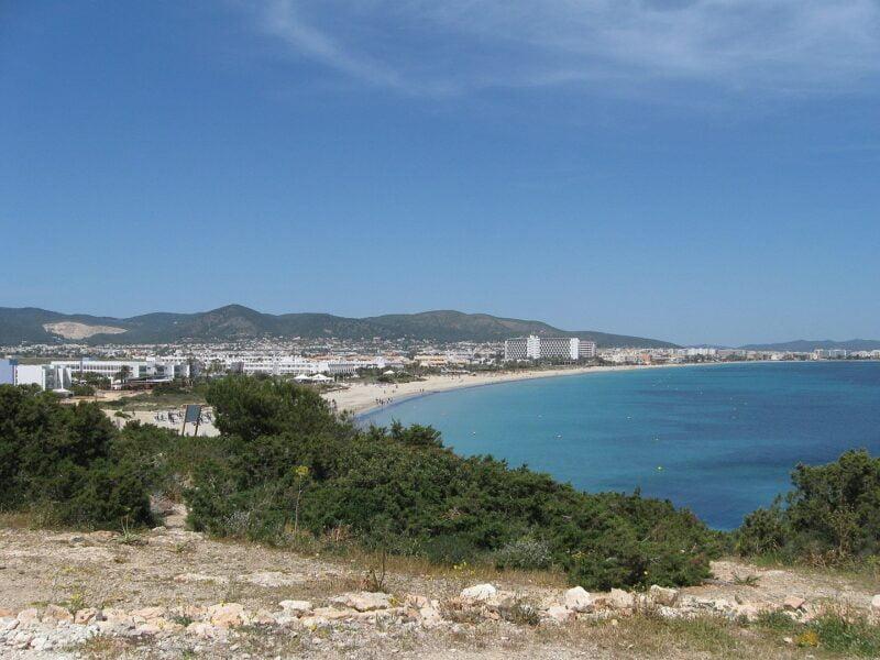 Playa D'en Bossa en Sant Jordi