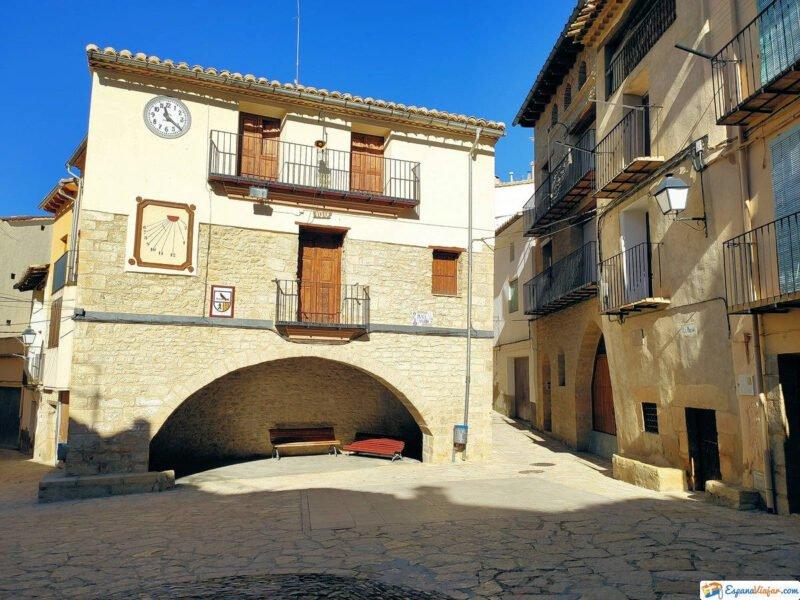 Plaza Mayor de Todolella