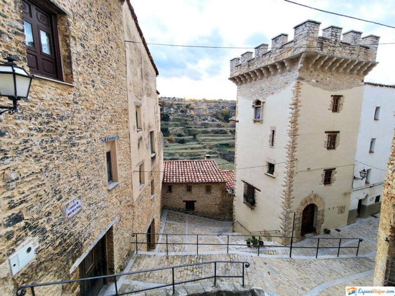 Calles de Villafranca del Cid