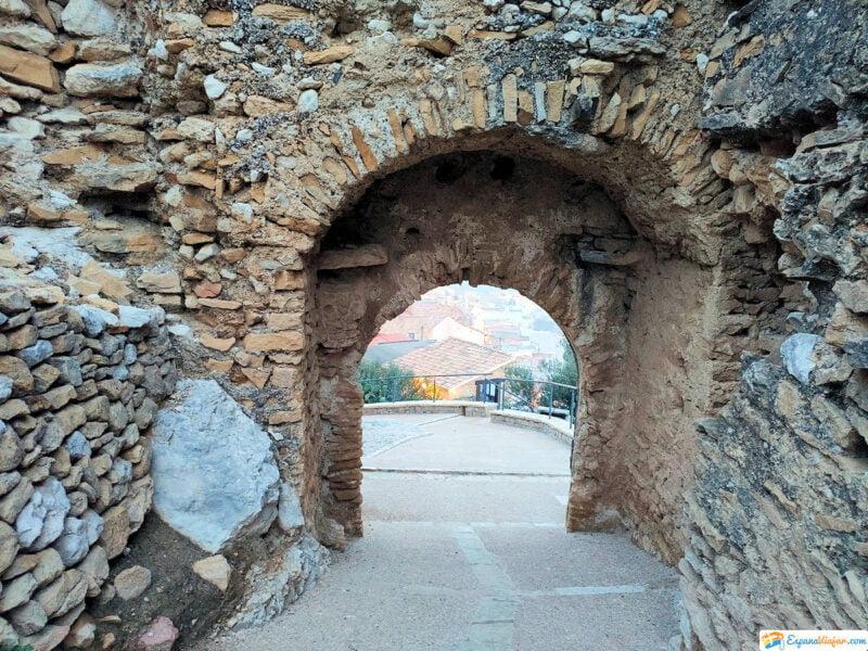 Entrada al Castillo de Cervera del Maestre