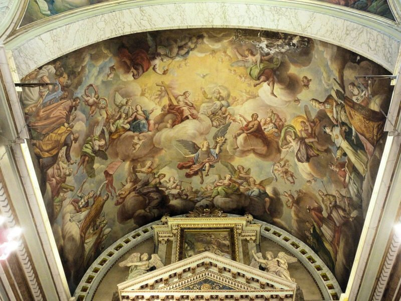 Fresco de Iglesia del SantoÁngel