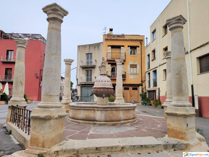 Fuente de la Virgen en Sant Mateu
