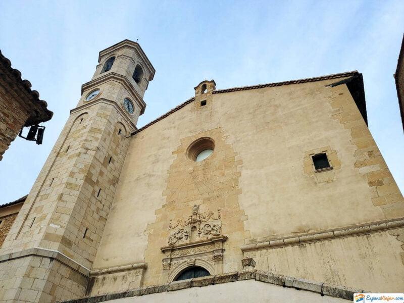 Iglesia de Santa María Magdalena en Villafranca del Cid