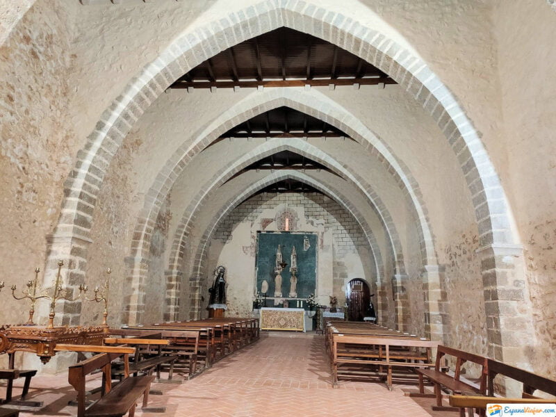 Interior Iglesia de San Pedro en Sant Mateu
