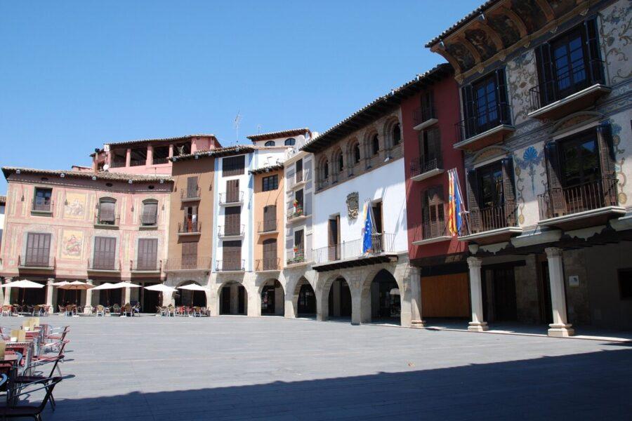 Visitar Graus. Plaza Mayor
