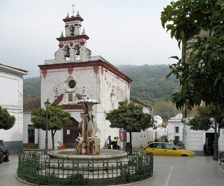Ermita de la Trinidad Almonaster La Real. Huelva