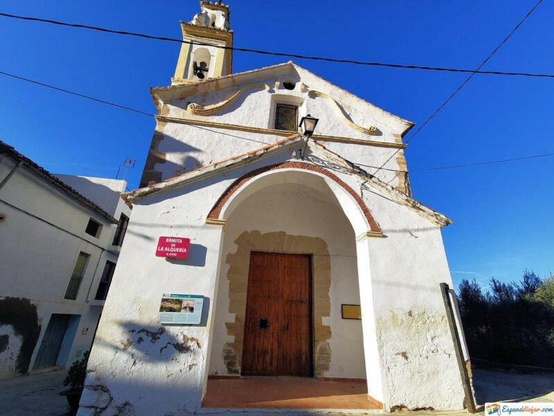 Ermita de la Alquería en Montanejos