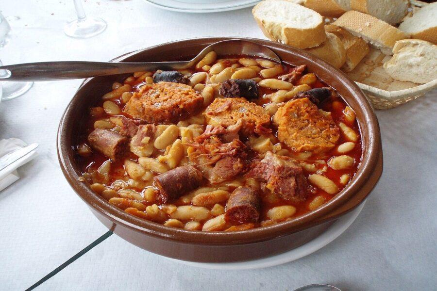 Gastronomía tipica de Bulnes.