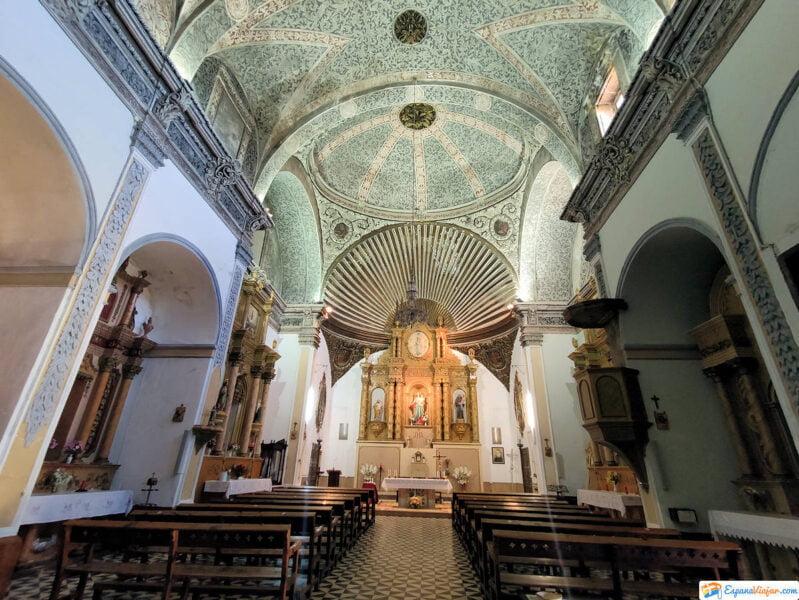 Interior Iglesia de la Virgen del Pópulo