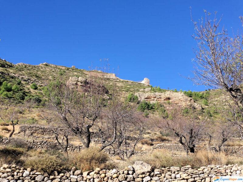 Restos del Castillo de Olocau del Rey