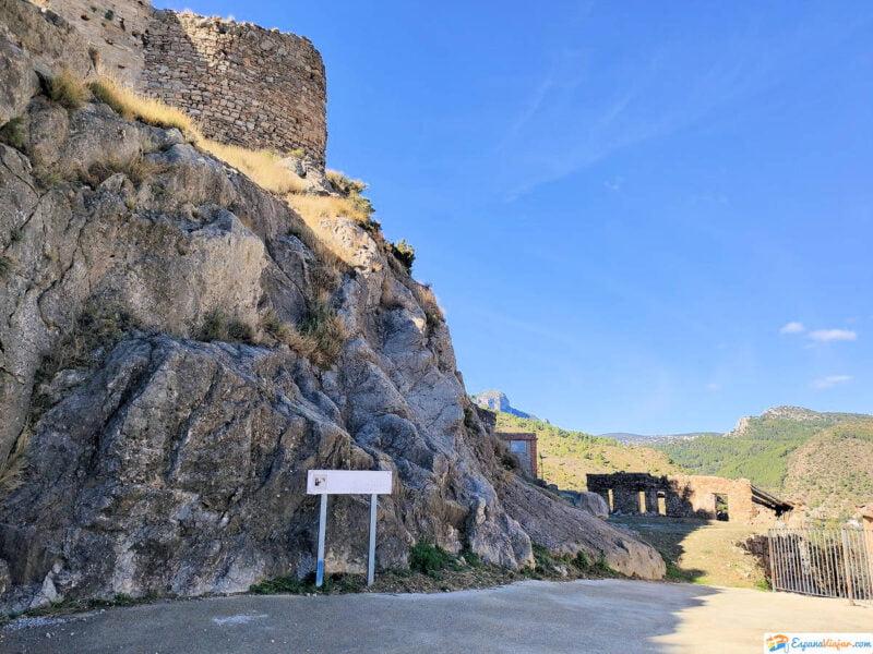 Vistas hacia el Castillo de la Orden de Calatrava