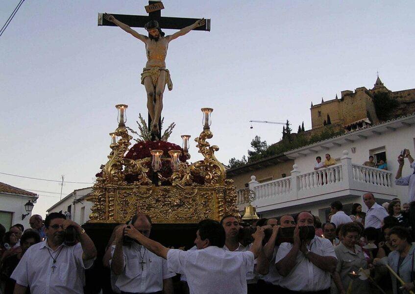 Fiestas típicas en Alcalá La Real
