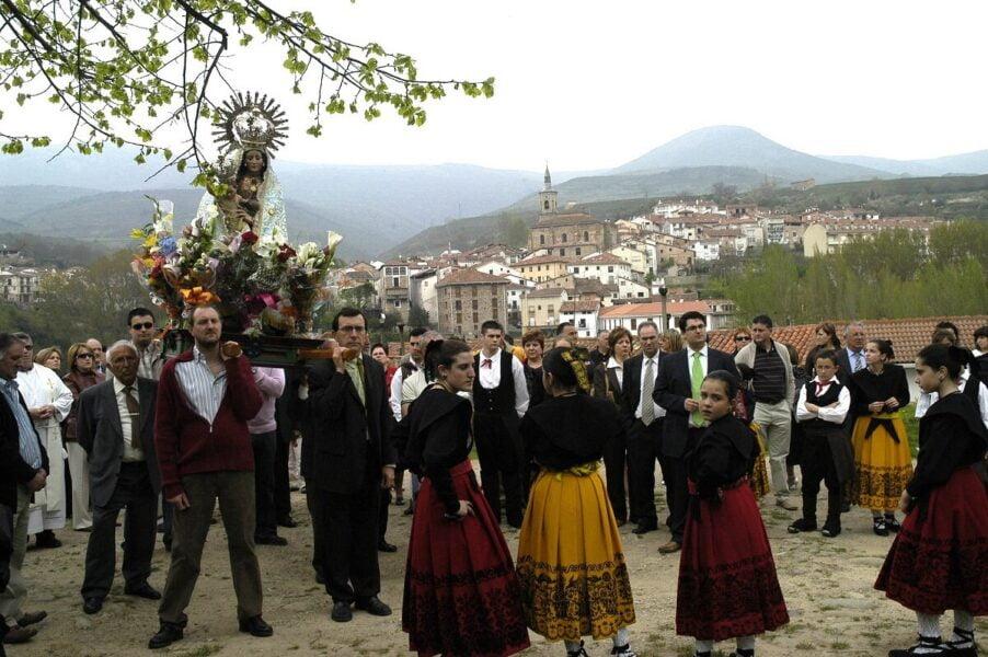 Fiestas típicas de Torrecilla en Cameros