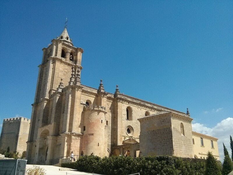 Iglesia Mayor Abacial en Alacalá La Real