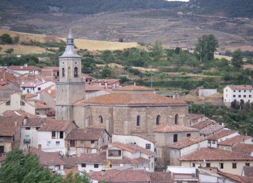 Iglesia de San Martín de Torrecilla en Cameros