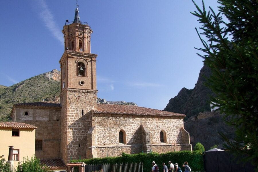 Iglesia de San Servando y San Germán en Arnedillo