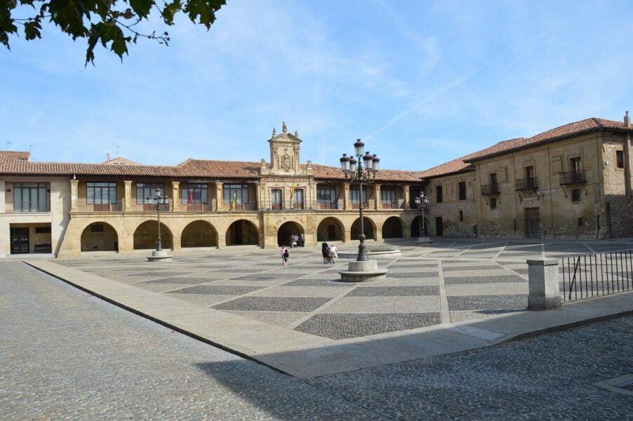 Plaza España de Santo Domingo de la Calzada