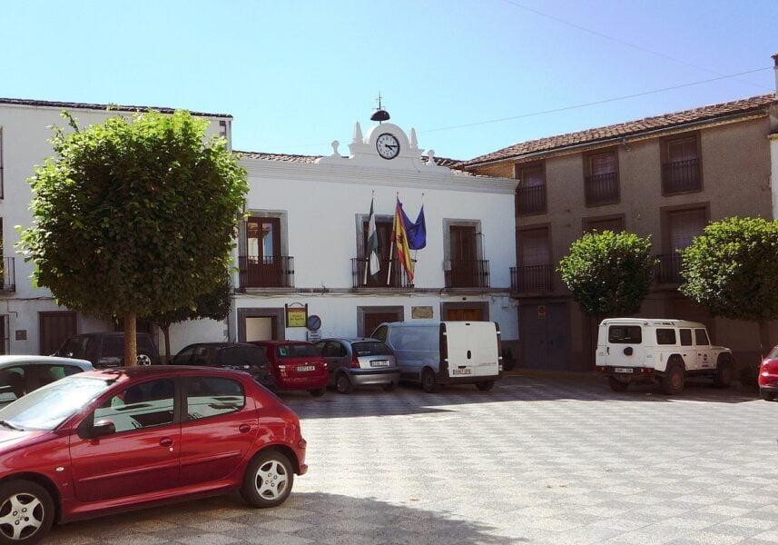 Plaza del Ayuntamiento de Hornos en Jaén