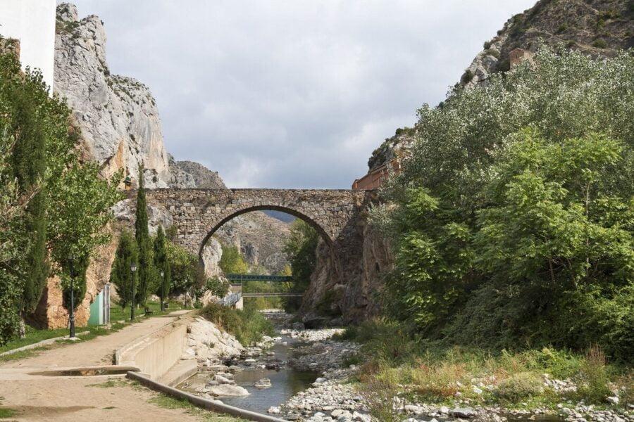 Puentes y garganta del río Cidacos