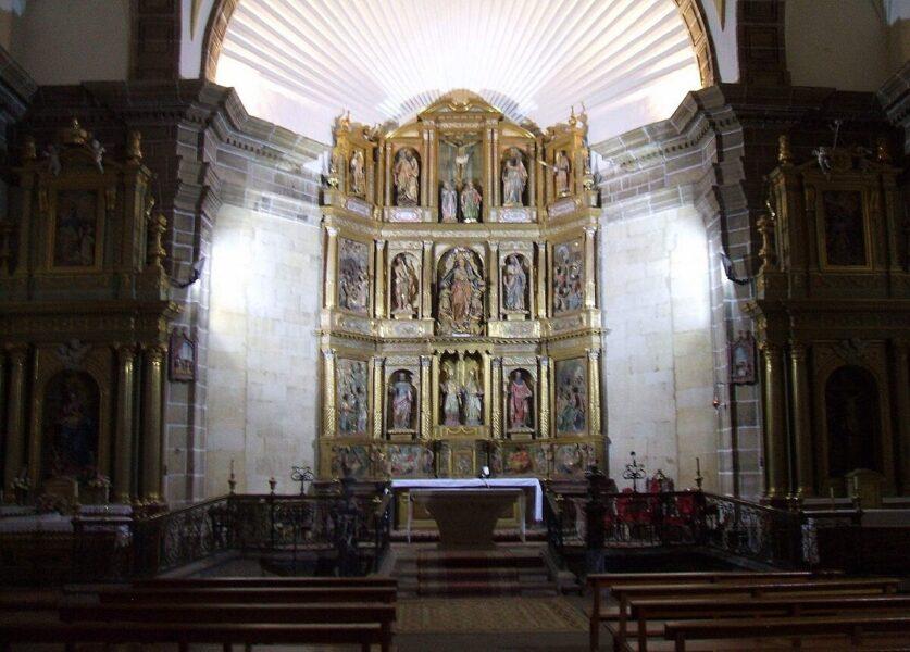 Retablo en la Iglesia de Nuestra Señora de la Asunción