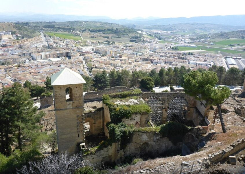 Ruinas de la Iglesia de Santo Domingo de Silos
