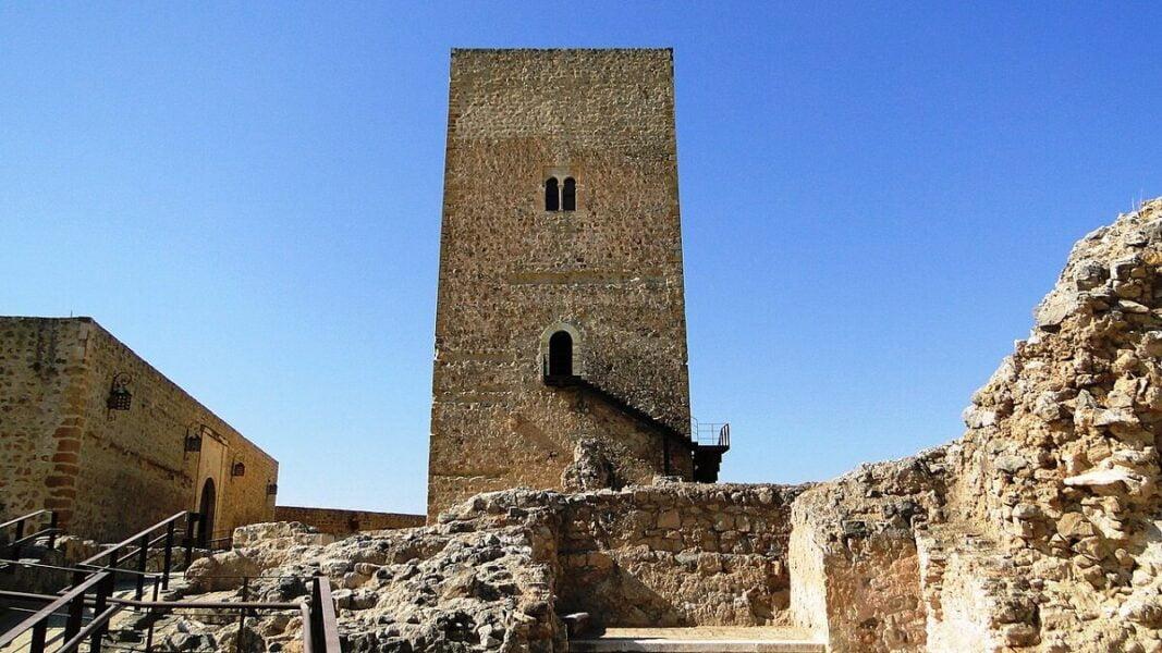 Torre Homenaje Castillo de Alcaudete