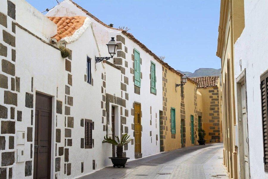 Calles de Agüimes en Gran Canaria