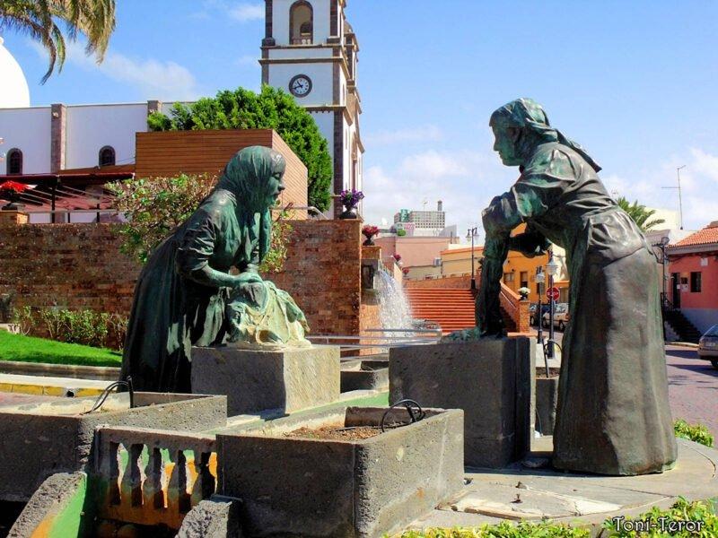 Lavanderas de Plaza de la Candelaria