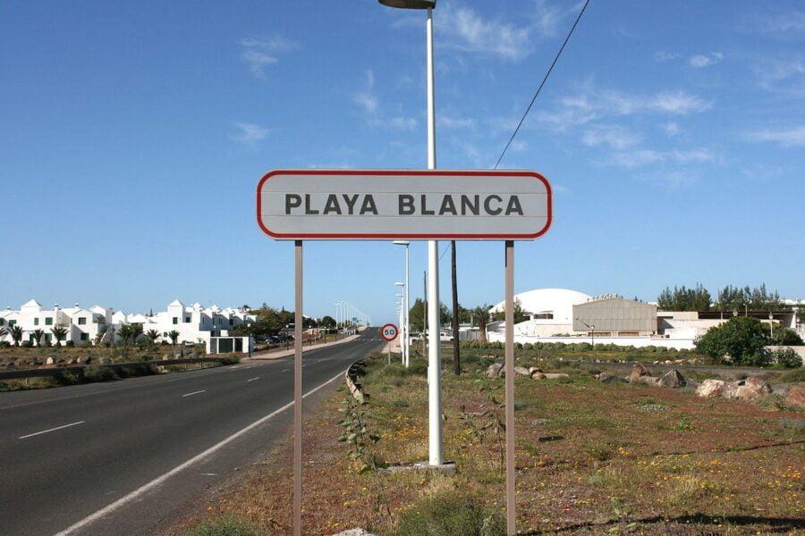Playa Blanca en Femés