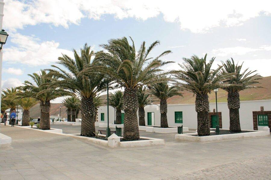 Plaza San Marcial en Femés