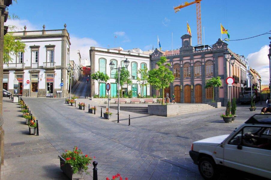 Plaza de la Constitución en Arucas