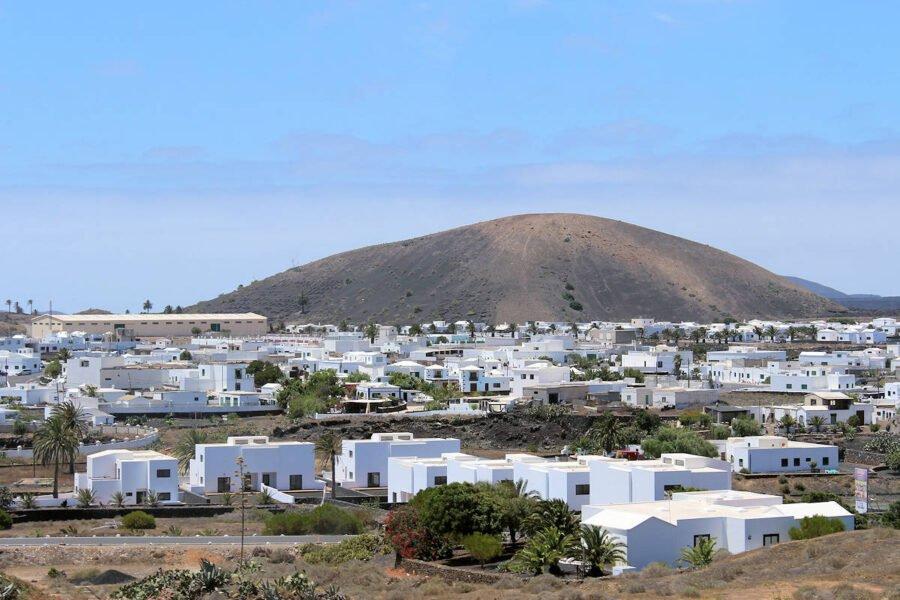 Pueblo de El Golfo en Lanzarote